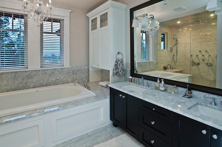 Bathroom Set Up  Stunning Toilet Design Bathroom Good Bathroom Setup     best white black same setup as my corner bathroom frame out window add  builtins not sure about dark mirror frame and dark cabinets with bathroom  set up