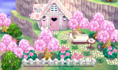 love cute fun pink animal crossing nintendo game sweet pastel 3ds cupcake maple animal crossing new leaf new leaf 3dsxl acnl HHD happy home designer new3dsxl new3ds achhd animal crossing happy home designer