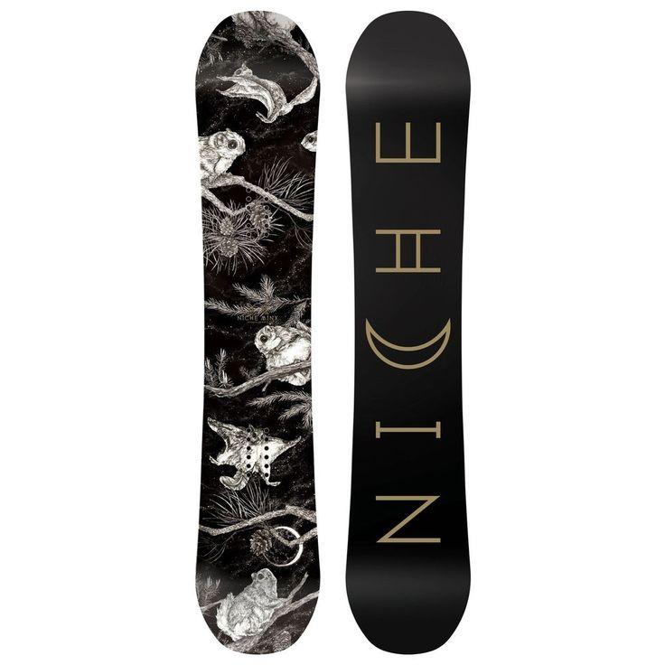 2018 NICHE MINX WOMEN'S SNOWBOARD SIZE 146  | eBay