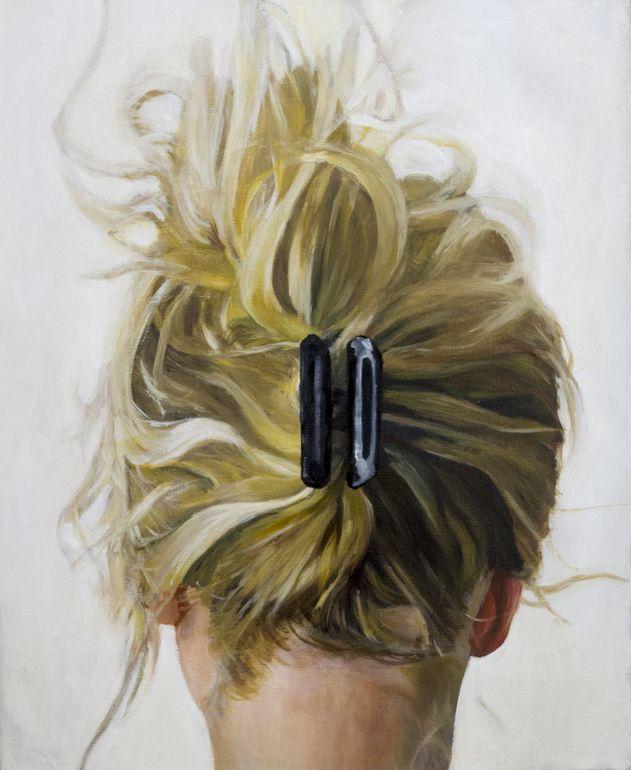 "Saatchi Online Artist: Cezary Kielar; Oil, 2013, Painting ""Portrat of Anna 2"""