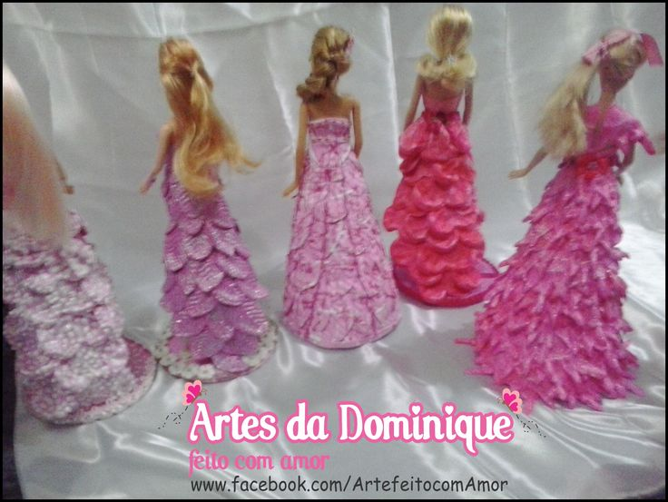 bonecas barbies decoradas
