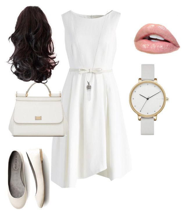 """""""Outfits para una Cita"""" by gabriela-palazzese on Polyvore featuring Chicwish, Dolce&Gabbana, Skagen and Marc Jacobs"""