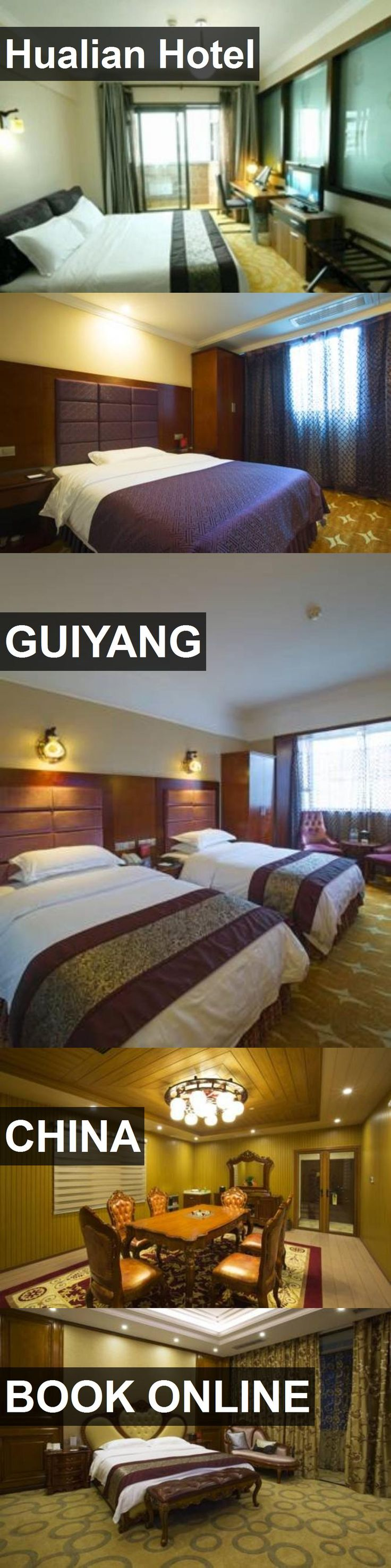Hualian Hotel in Guiyang, China. For more information, photos, reviews and best prices please follow the link. #China #Guiyang #travel #vacation #hotel