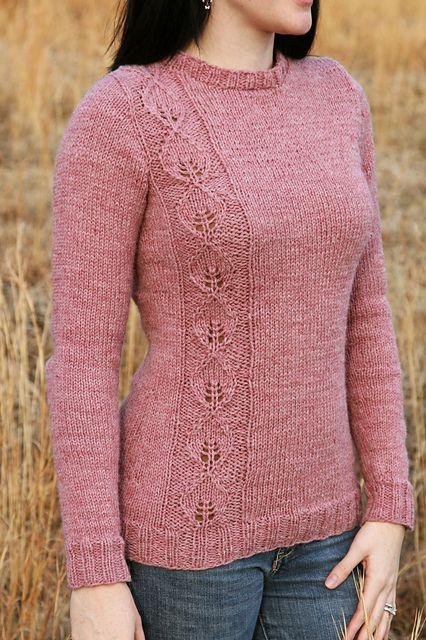 Ideia para uma blusa de tricô