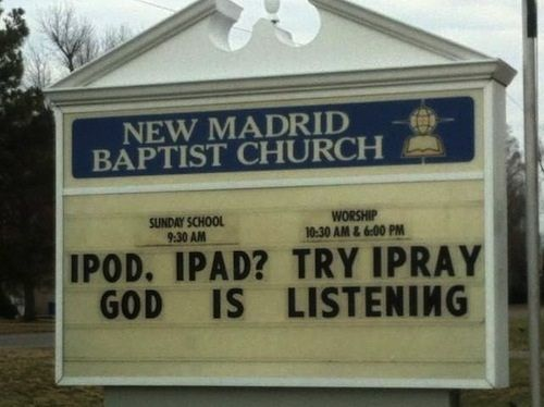 Weekly Wrap & Church Signs of the Week | The Exchange | A Blog by Ed Stetzer