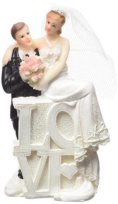 NEU Deko-Figur Hochzeitspaar Mann & Frau Love♥ hochzeitsgeschenk ...