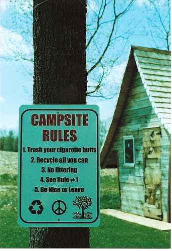 campsite rule dating