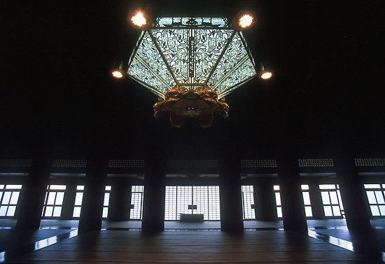Goeido Hall, Nishi Honganji Temple #Kyoto #Japan