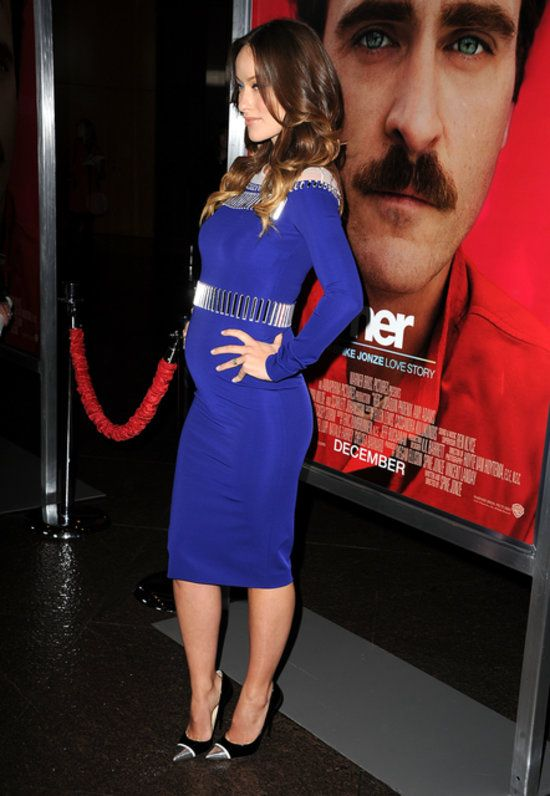 Olivia Wilde's Baby Bump at Her Premiere