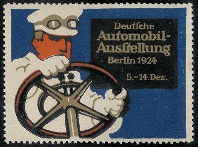 Automobil-Ausstellung, Berlino 1924