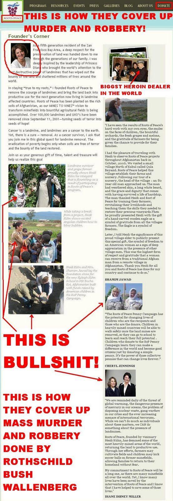 stefanlofven: Roots of Peace-Founder's Corner - Scam - Fraud - C...