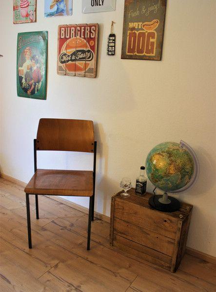Stühle - vintage Design Stuhl   (10x verfügbar) - ein Designerstück von Pfaennle bei DaWanda