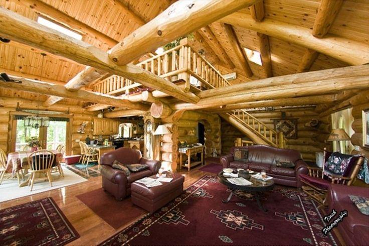 Egg Harbor Cabin Rental: The Honey Dew Log Lodge At Egg Harbor Door County Wisconsin | HomeAway