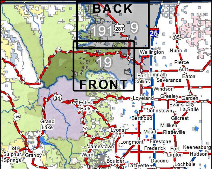 56 Best Res 2017 Land Nav Maps Images On Pinterest James D: Colorado Interactive Hunting Map At Slyspyder.com