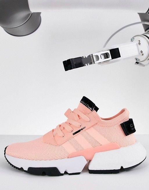 best service e5f40 cc40f adidas Originals Pod-S3.1 Sneakers In Pink