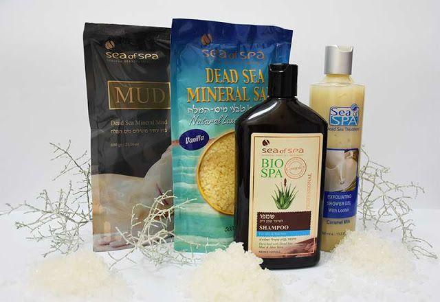 All my cosmetics: Sea of Spa: kosmetika z mrtvého moře