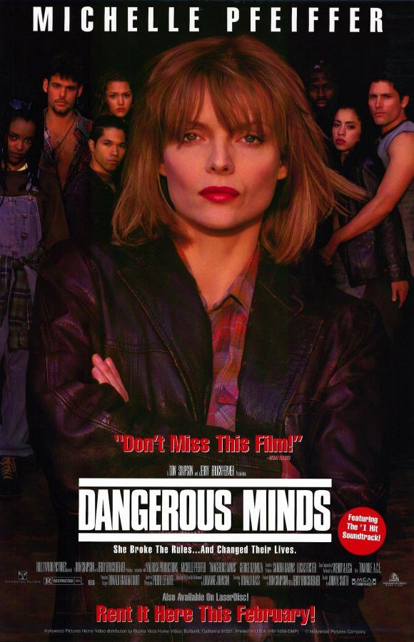 Dangerous Minds 11x17 Movie Poster (1995)