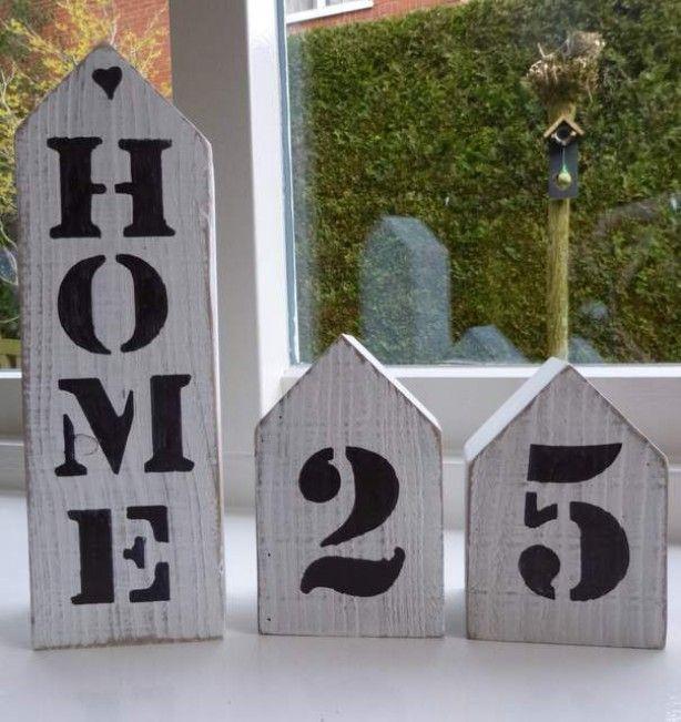 huisjes van hout