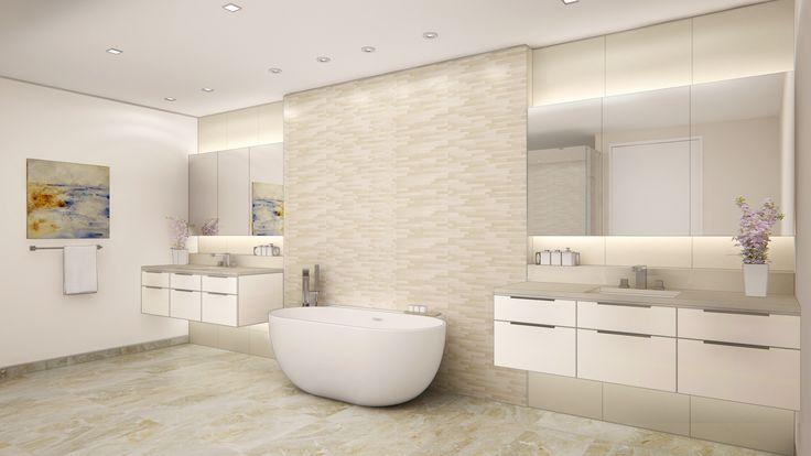 Future Highland Beach Condo Project - Master Bathroom Color Scheme B
