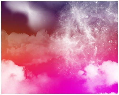 雲のイメージ Photoshopブラシパターン