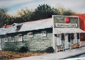 Irondale Cafe (of Fried Green Tomatoes fame) Birmingham, Alabama by Carl Salter