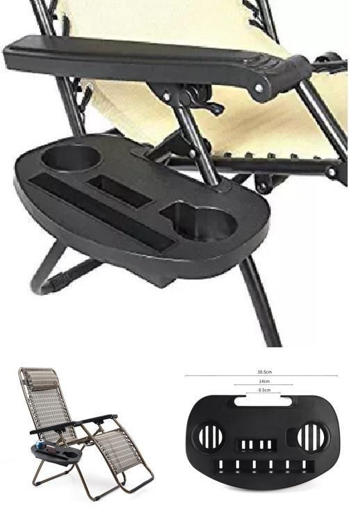cup holder tray for zero gravity chair lazy boy lift chairs oval pool patio lawn lounge beach side centstar