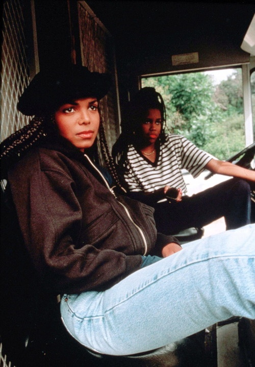 Janet Jackson and Regina King (Poetic Justice)
