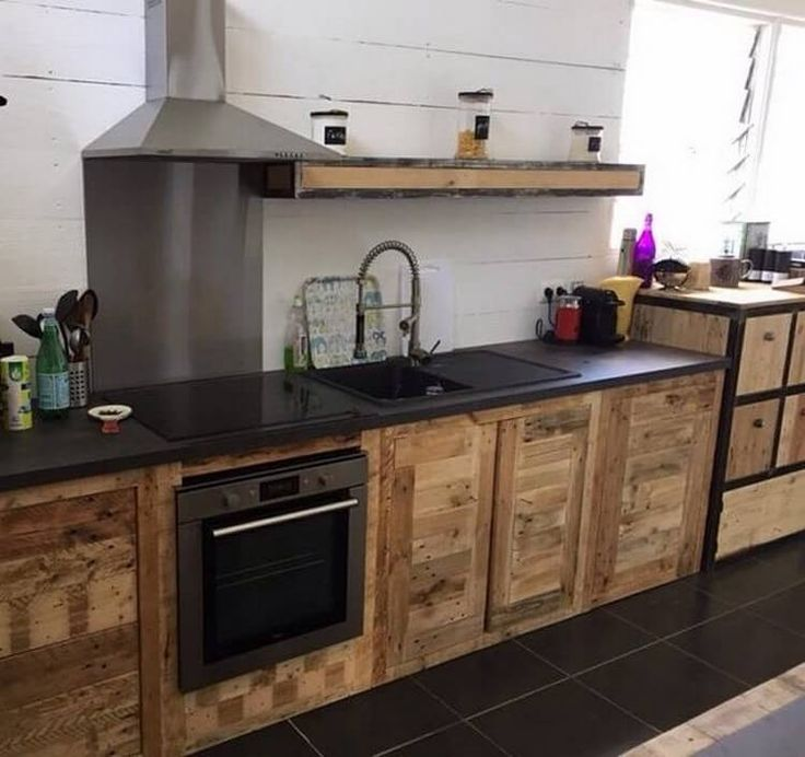 best 25+ pallet kitchen cabinets ideas that you will like on