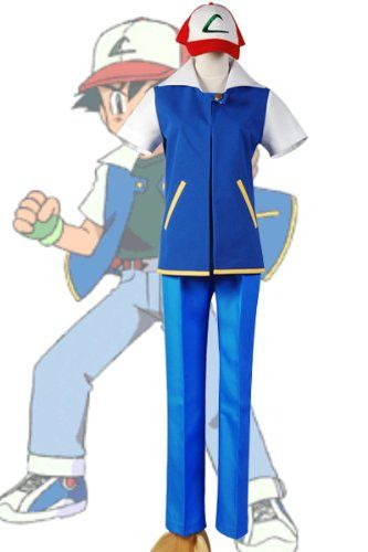 Pokemon ash ketchum cosplay costume Style-A - http://www.gamezup.com/pokemon-ash-ketchum-cosplay-costume-style-a - http://ecx.images-amazon.com/images/I/417t4YGaJtL.jpg