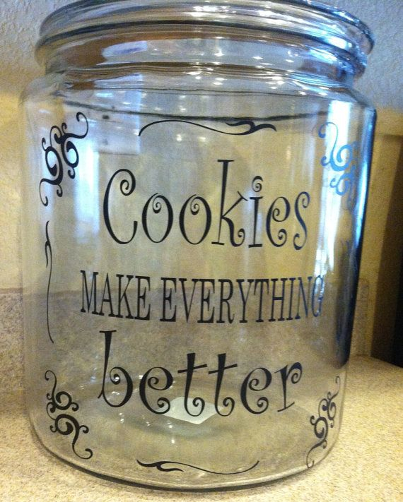 Glass cookie jar decorating ideas billingsblessingbags