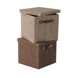 Krabice GODTFRED Š32xD32xV29 cm různé