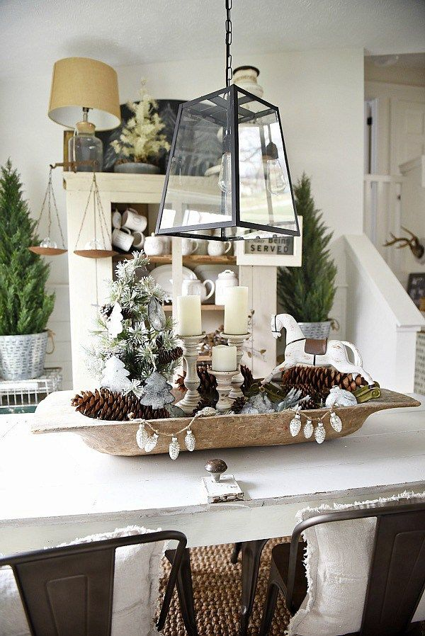 17 best ideas about dough bowl on pinterest xmas decorations dining centerpiece and - Kitchen table centerpiece bowls ...