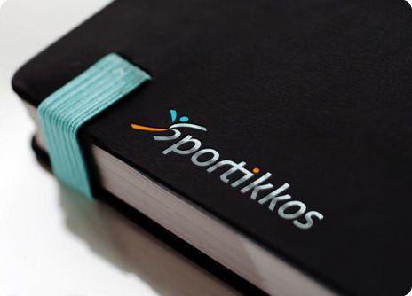 Diseño de logo para Sportikkos, una empresa de eventos deportivos. // Logo for Sportikkos, a sport events company.