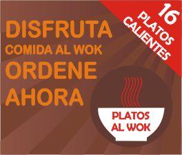Platos al wok