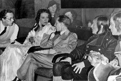 Joseph Goebbels with actress Brigitte Horney