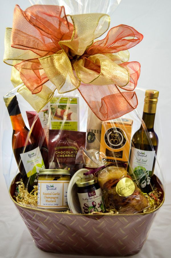 8 best gourmet holiday gift images on pinterest olive oil now you can make your gift more special and make her smile larger by gifting large gourmet gift baskets negle Gallery