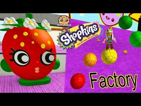 Shopkins Factory Roblox Tycoon Game Cookie Swirl C Let S Play