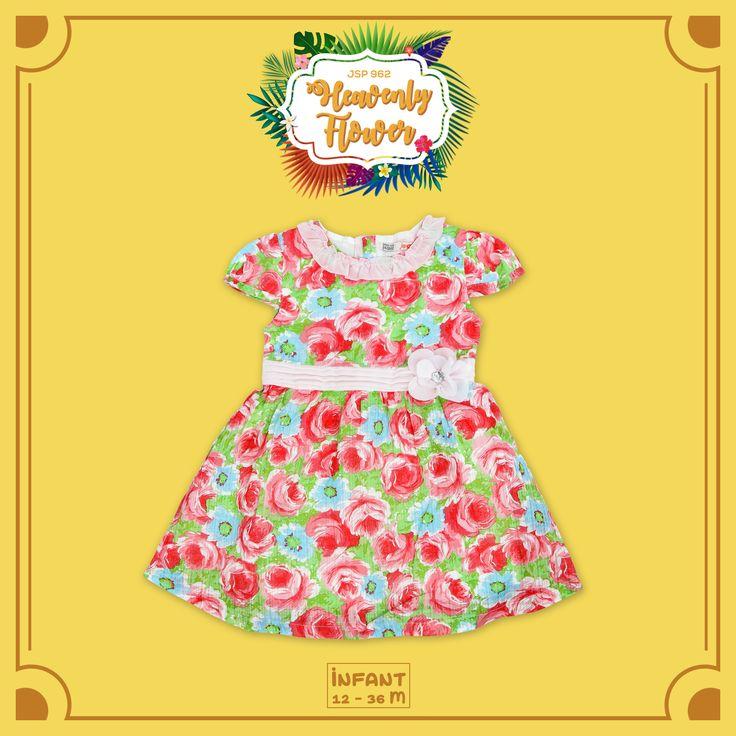 -HEAVENLY FLOWER- Ayo dapatkan koleksi dress terbaru yang didesain khusus secara eksklusif bagi si kecil usia 12-36 bulan.  #jsp #jsp962 #kids #baby #kidsfashion #kidsindo #kidsstyle #kidsclothes #kidsclothing #babykids #babyclothes #children #childrenclothes #mataharimall #yogyastore #bajuanak #anak #instakids #instababy