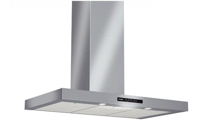 Bosch 90CM Wall-Mounted Stainless Steel Canopy Rangehood - Rangehoods - Appliances - Kitchen Appliances | Harvey Norman Australia