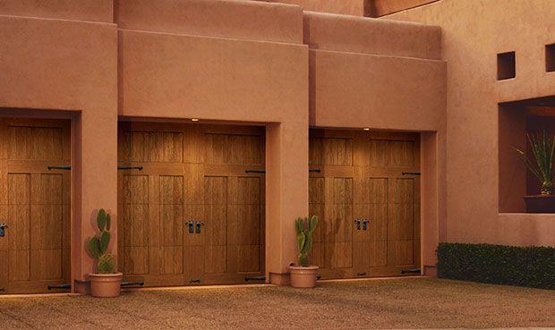 1000 Images About Faux Wood Garage Doors On Pinterest