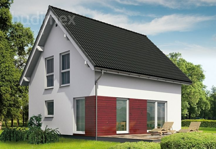 Eineinhalbgeschossige Häuser Point 106.1 || #houses #hauser || http://www.danwood.de/hauser/eineinhalbgeschossige/point-106-12