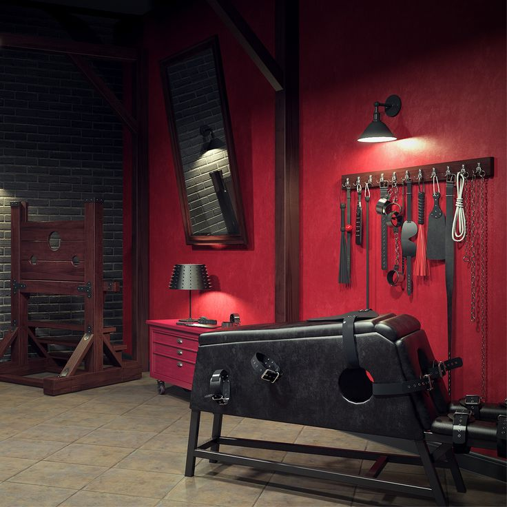 3d model of BDSM Room