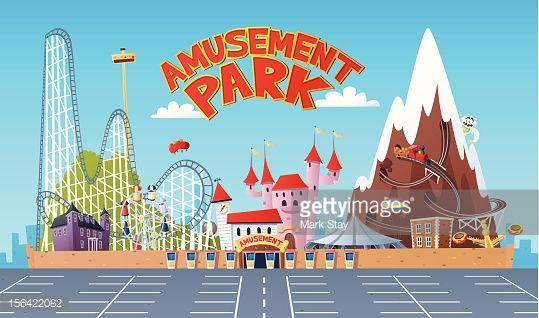 Vector Art : Amusement Park