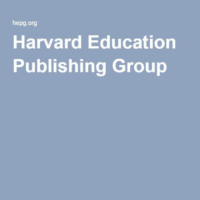 Harvard Education Publishing Group