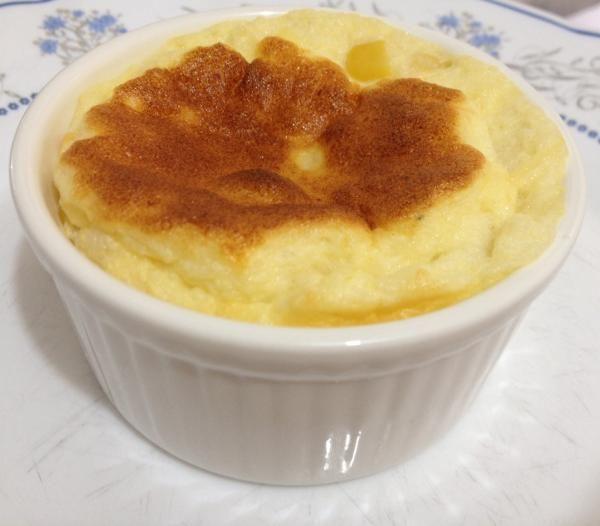Receta de Soufflé de maíz tierno y queso parmesano