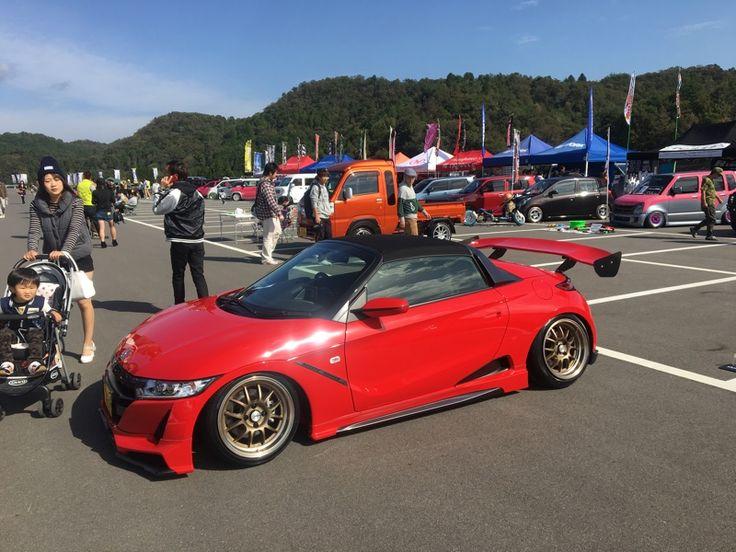 ホンダ S660 Honda S660 Lowered Stance Jdm Honda