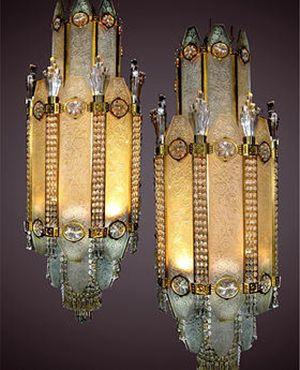 519 best Luminaire Art Deco images on Pinterest