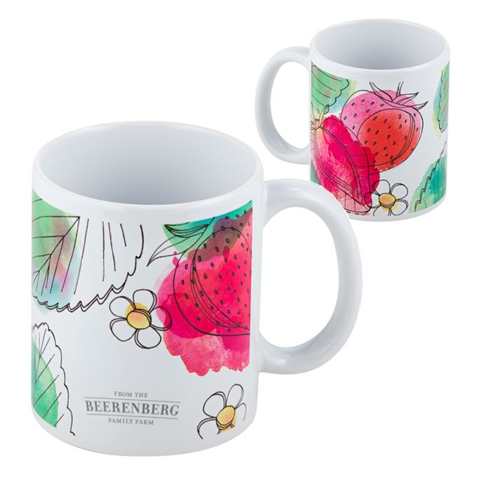 The Beerenberg Watercolour Ceramic Mug is the perfect size for your favourite beverage - hot and cold. Do you love this design? #Mug #Beerenberg #Beverage #iChooseSA