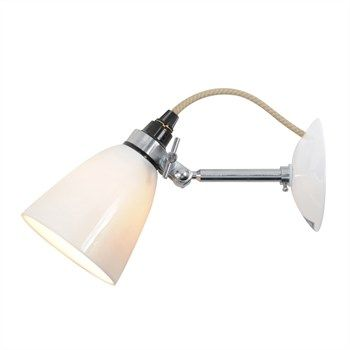 Hector Small Dome Spotlight Wall Light