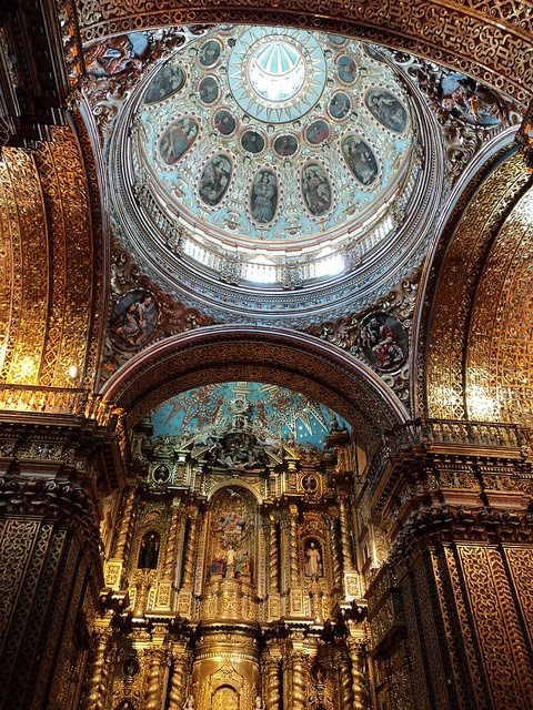 Just beautiful - can't wait to see it for myself. Compania de Jesus #Quito #trafalgarinsider
